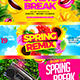 Spring Party Facebook Cover - GraphicRiver Item for Sale