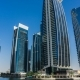 Sunny Day, Residential Buildings in Jumeirah Lake Towers, , Dubai, UAE. - VideoHive Item for Sale