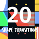20 Shape Transitions Pack - VideoHive Item for Sale