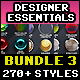 270+ Texteffects Bundle Vol.3 - GraphicRiver Item for Sale