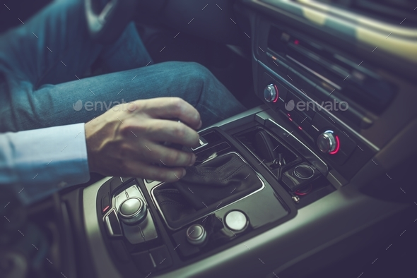 Men Driving the Car - Stock Photo - Images