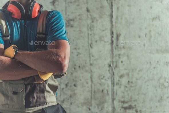 Proud Construction Worker - Stock Photo - Images