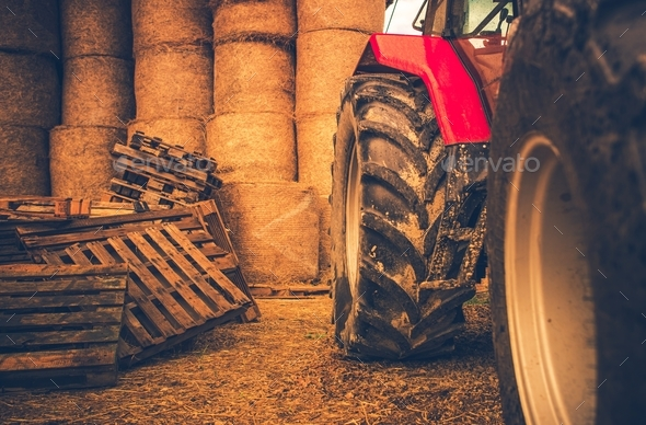 Modern Farming Equipment - Stock Photo - Images