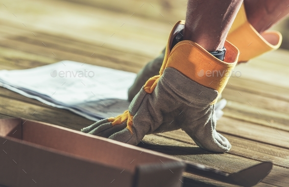 Having Construction Plan - Stock Photo - Images