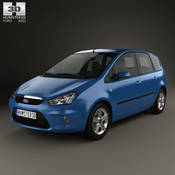 Ford C-Max 2007 - 3DOcean Item for Sale