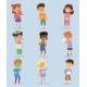 Children Sickness Illness Disease Little Kids - GraphicRiver Item for Sale