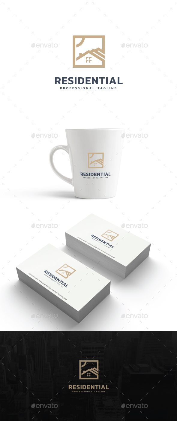 Residential Logo - Buildings Logo Templates