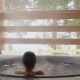 A Girl Is Bathing in the Cast Iron Vat with Mineral Water - VideoHive Item for Sale