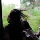 Girl Traveling by Train - VideoHive Item for Sale