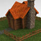 Low Poly House - Game Ready - 3DOcean Item for Sale