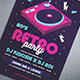80's Retro Party Flyer - GraphicRiver Item for Sale