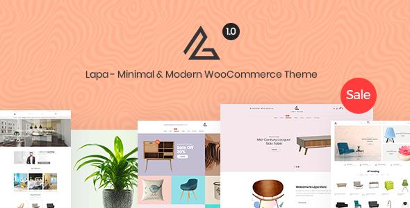 Lapa – Minimal & Modern WooCommerce Theme