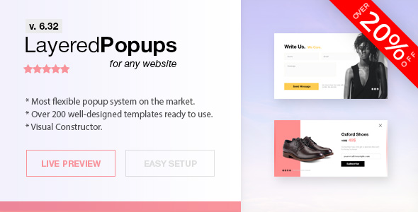 Layered Popups - Standalone Popup Script - CodeCanyon Item for Sale