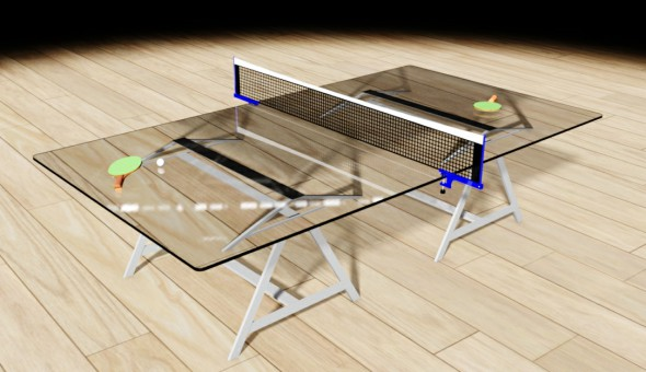 3b table tennis model - 3DOcean Item for Sale
