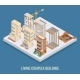 Living Complex Building Vector Flat Isometric - GraphicRiver Item for Sale