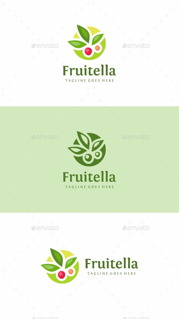 Fruit Logo - Food Logo Templates