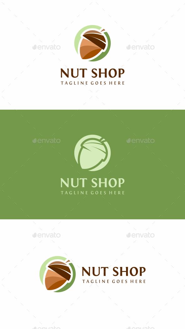 Nut Shop Logo - Food Logo Templates
