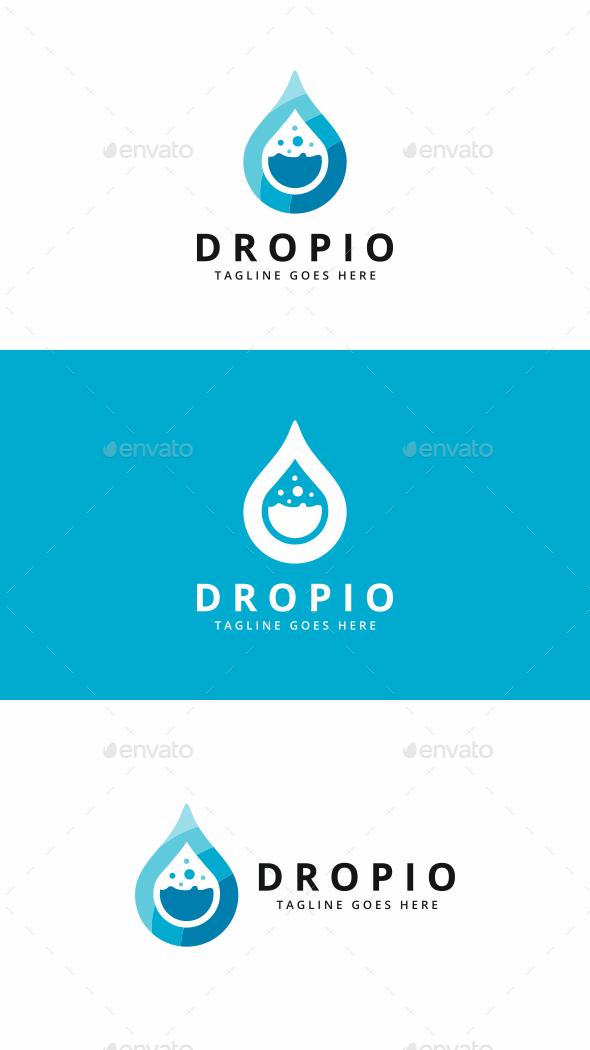 Drop Lab Logo - Symbols Logo Templates