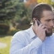Rich Businessman Talks on a Phone and Runs Away a Poor Homeless Man - VideoHive Item for Sale