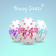Decorated Easter Eggs - GraphicRiver Item for Sale