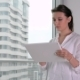 Young Businesswoman Using Tablet in Office - VideoHive Item for Sale