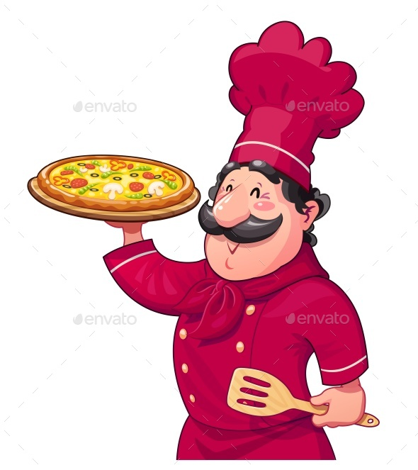 Cook with Pizza - Food Objects