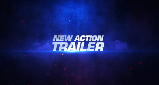 Action Title With Logo Reveal