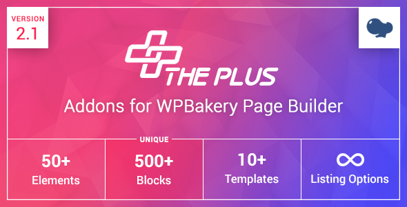 ThePlus Addons for WPBakery Page Builder (formerly Visual Composer) - CodeCanyon Item for Sale