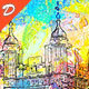 Coloured Sketch Paints Photoshop Action - GraphicRiver Item for Sale