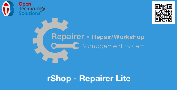 rShop - Repairer Lite - CodeCanyon Item for Sale