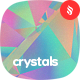 Crystalline Low Poly Refraction Backgrounds - GraphicRiver Item for Sale