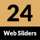 Modern Multipurpose Web Sliders - 24 designs