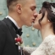 Newly Married Couple Walk Together and Kissing - VideoHive Item for Sale