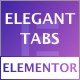 Elegant Tabs for Elementor