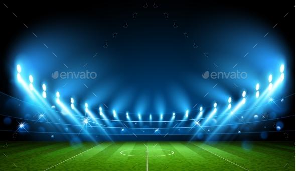 Football Arena Stadium - Sports/Activity Conceptual