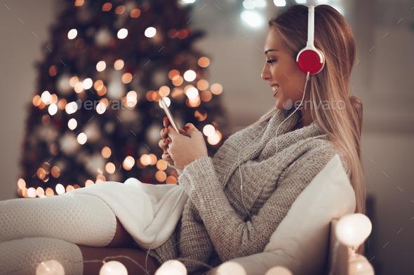 Christmas Music - Stock Photo - Images