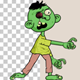 Cartoon Zombie Walk Cycle - VideoHive Item for Sale
