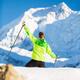 Man hiking in Himalaya Mountains in Nepal - PhotoDune Item for Sale
