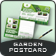 Garden Landscape Postcard Templates - GraphicRiver Item for Sale