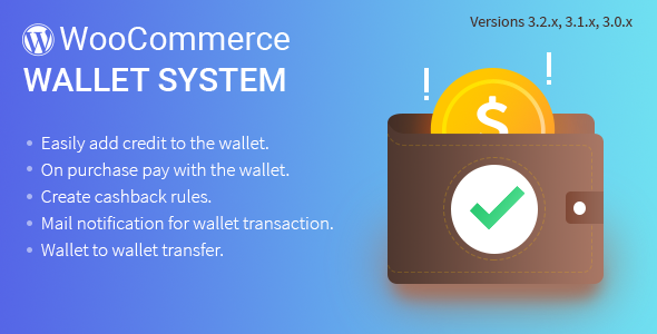 WordPress WooCommerce Wallet System Plugin - CodeCanyon Item for Sale