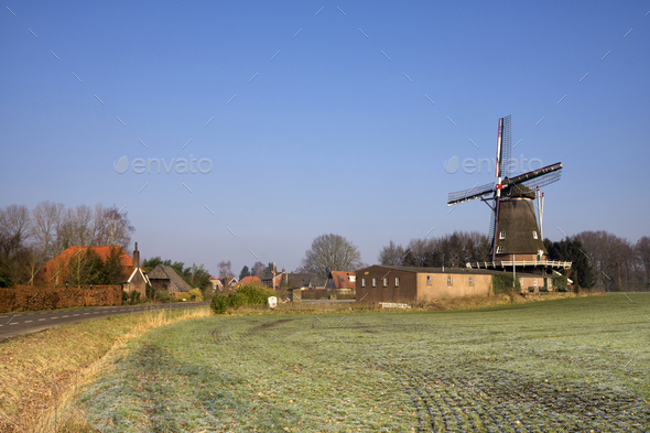The Zwiep windmill - Stock Photo - Images