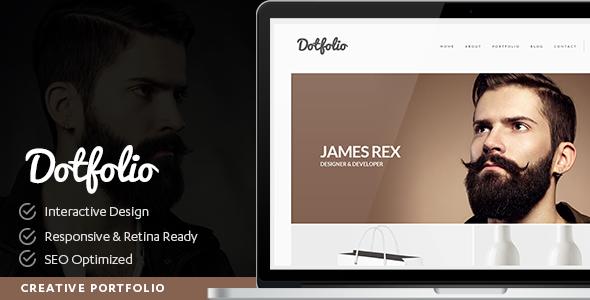 Dotfolio- Creative Portfolio for Creative People WordPress Theme
