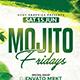 Mojito Fridays Flyer