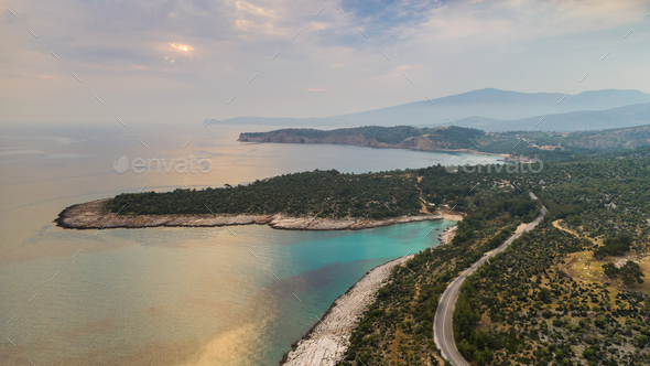 Thassos island, Greece - Stock Photo - Images