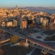 Aerial Drone Shot of Sunset in Istanbul, Turkie - VideoHive Item for Sale
