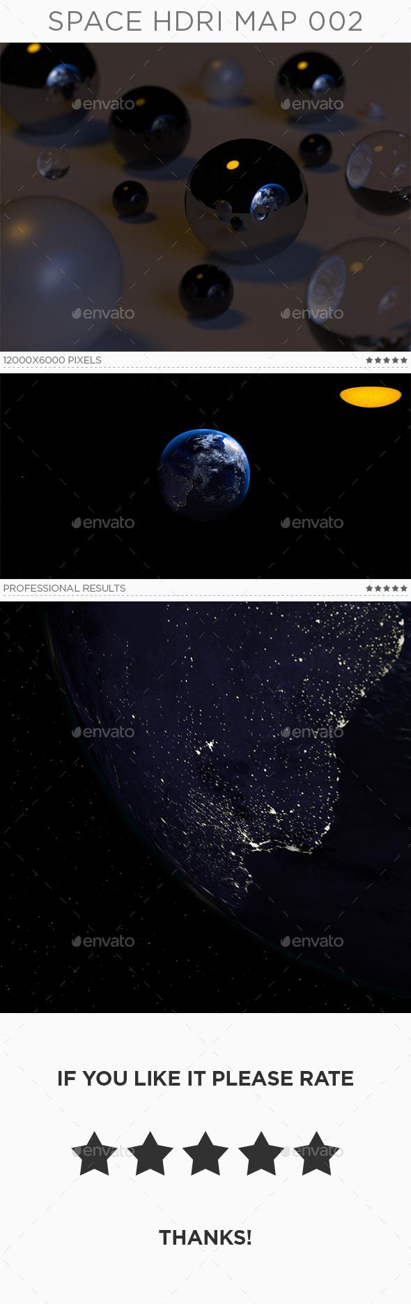 Space HDRi Map 002 - 3DOcean Item for Sale
