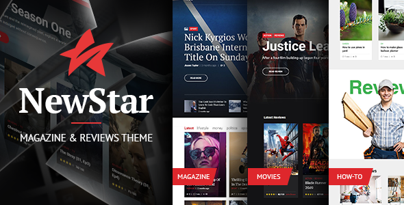 Image of Newstar - Flexible Magazine WordPress Theme