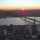 Aerial Drone View of Istanbul, Turkie at Sunset - VideoHive Item for Sale