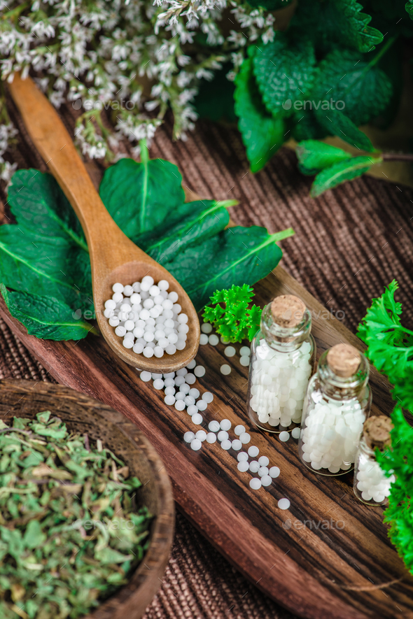 Homeopathy Close Up - Stock Photo - Images