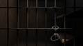 Dimly Lit Prison Cell and Handcuffs - PhotoDune Item for Sale